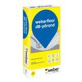 pašizlīdzinošā masa grīdām weberfloor dB-porand