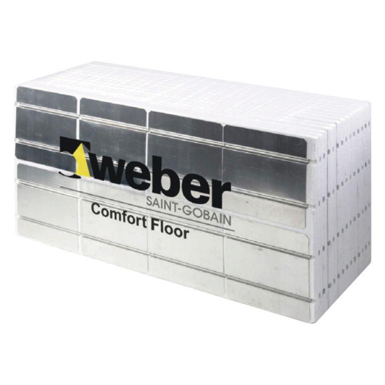 siltumizolācijas plāksne ar gofrētu alumīniju weber.vetonit 130 core
