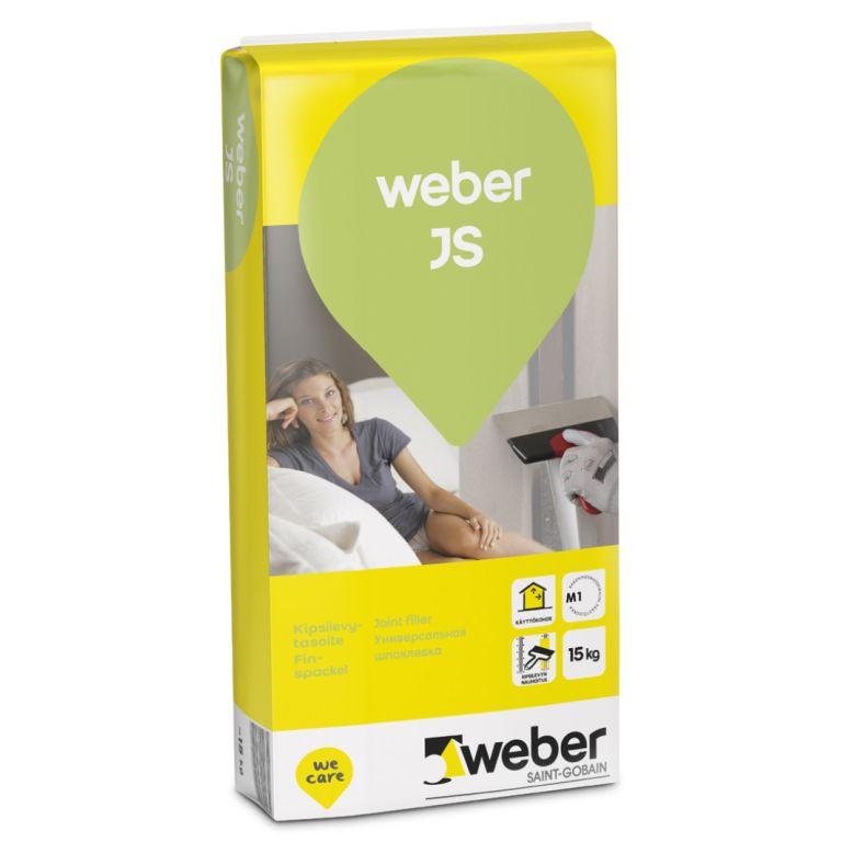nobeiguma špaktele weber JS