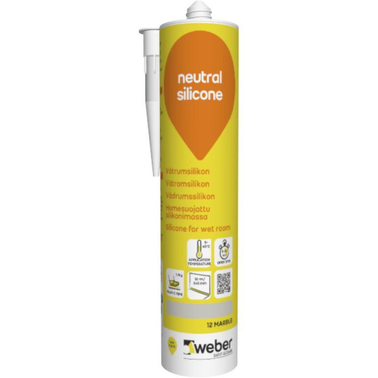 Weber neutral silicone