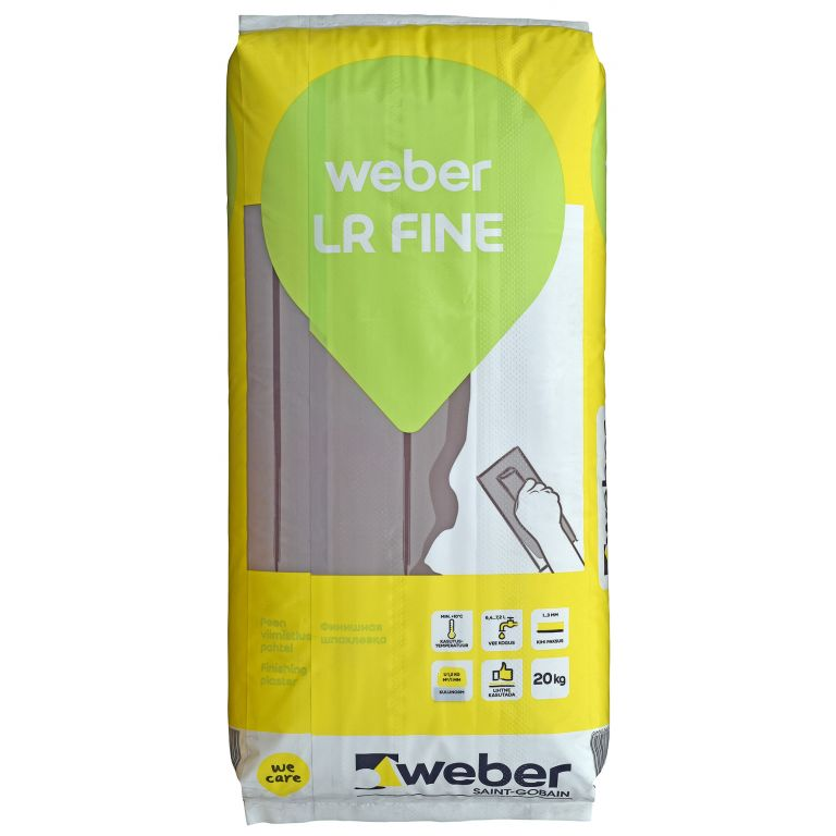 špaktele Weber LR Fine