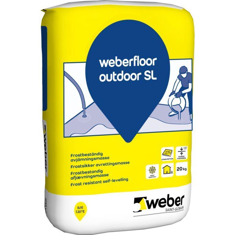 weberfloor outdoor SL
