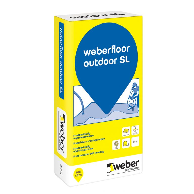 weberfloor outdoor SL